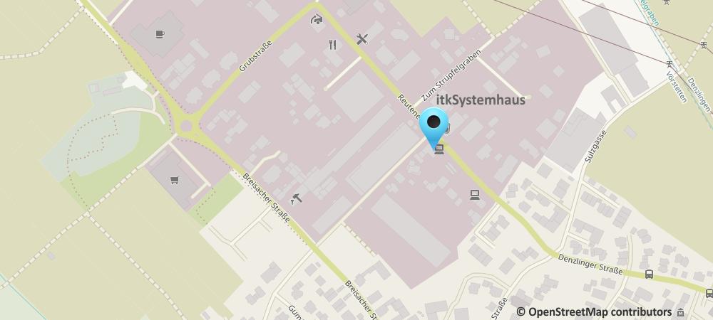 Karte Anfahrt itkSystemhaus